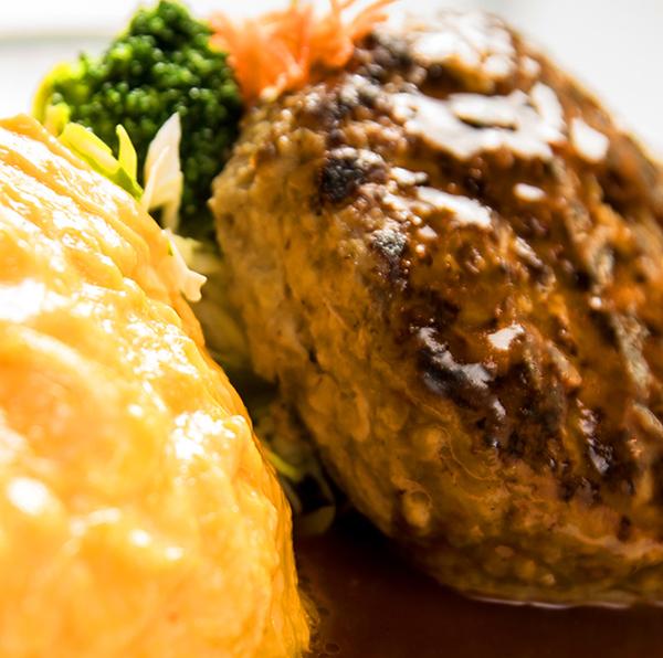 米沢牛ハンバーグ