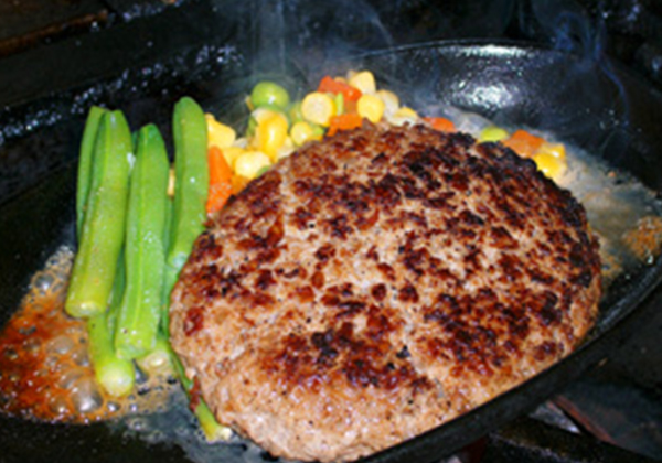 米沢牛ハンバーグセット
