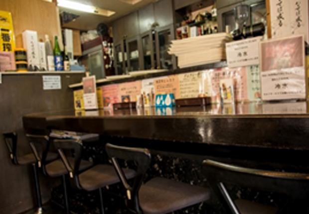 ステーキレストラン 四季彩のカウンター席