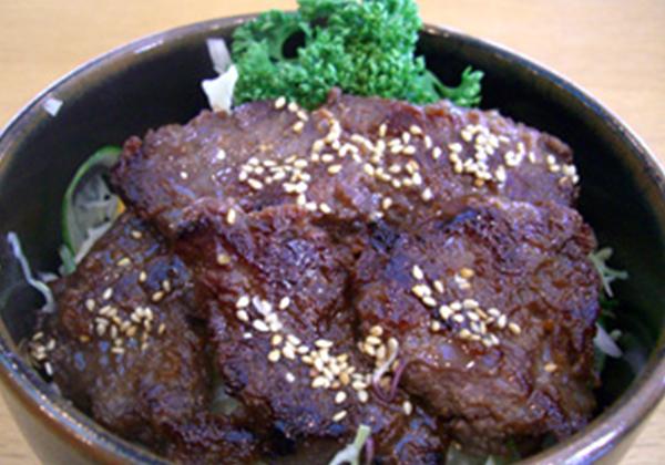 米沢牛の焼肉丼セット