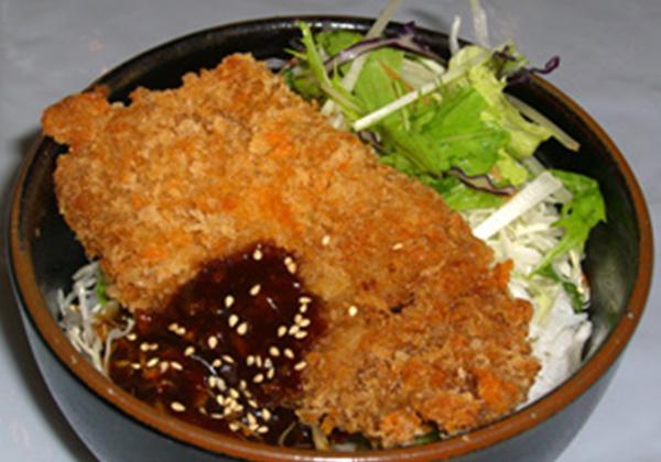 米沢牛ビーフカツレツ丼セット