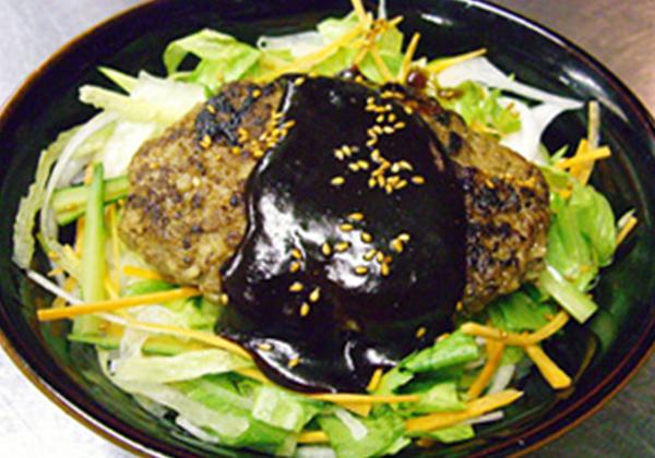 米沢牛ハンバーグ丼セット