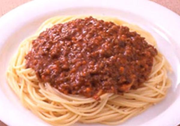 米沢牛ハンバーグスパゲティ